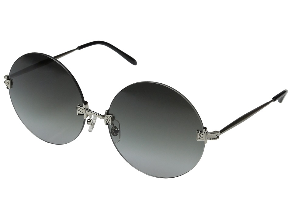 Wildfox - Pearl (Antique Silver/Grey Gradient) Fashion Sunglasses