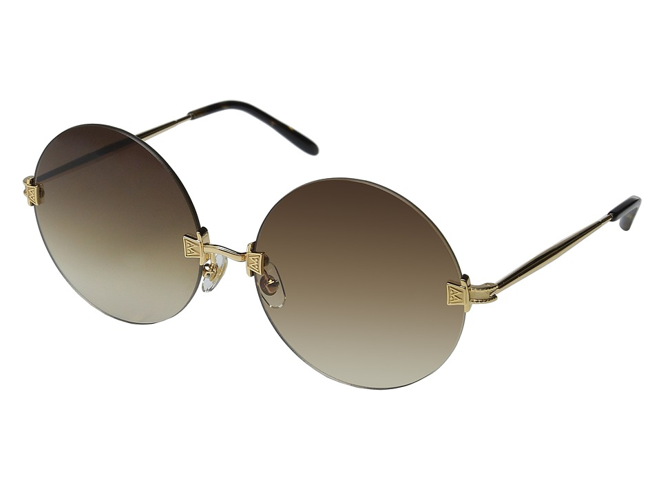 Wildfox - Pearl (Gold/Tortoise/Brown Gradient) Fashion Sunglasses