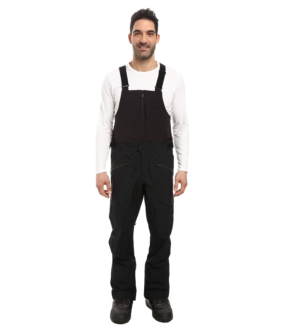 Burton - [ak] 3L Freebird Bib Pants (True Black 1) Men's Snow Bibs One Piece