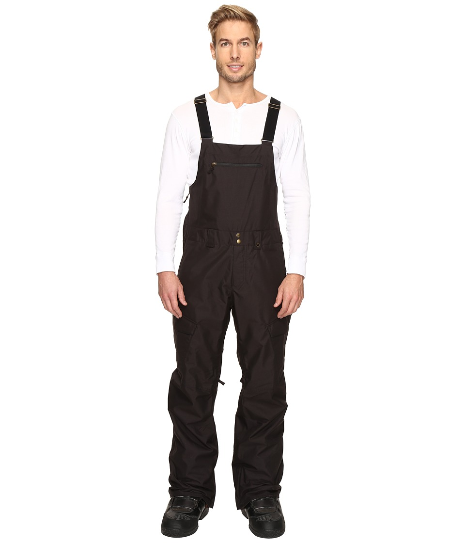 Burton - Reserve Bib Pant (True Black 1) Men's Snow Bibs One Piece