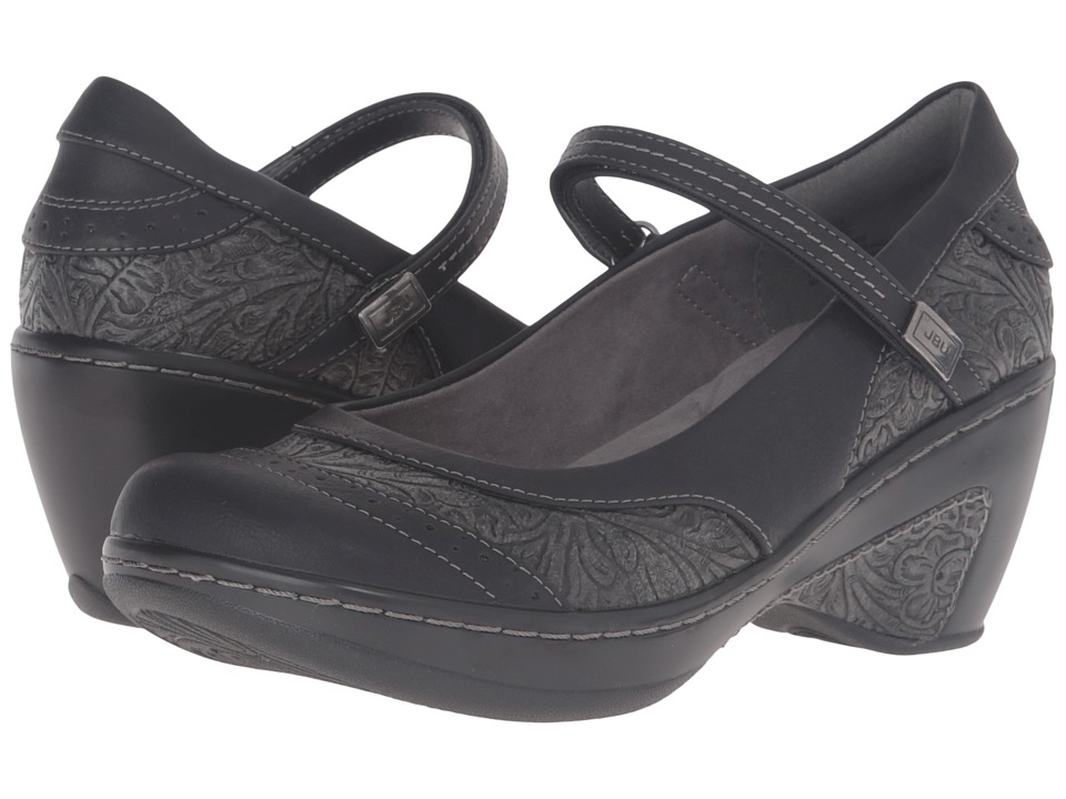 JBU - Melrose (Black) Women's Maryjane Shoes