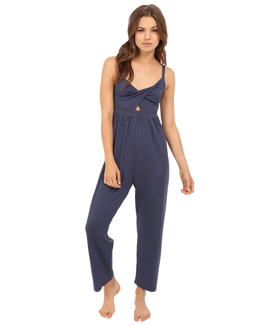Only Hearts - Picnic Club Jumpsuit (Denim) Women's Jumpsuit & Rompers One Piece