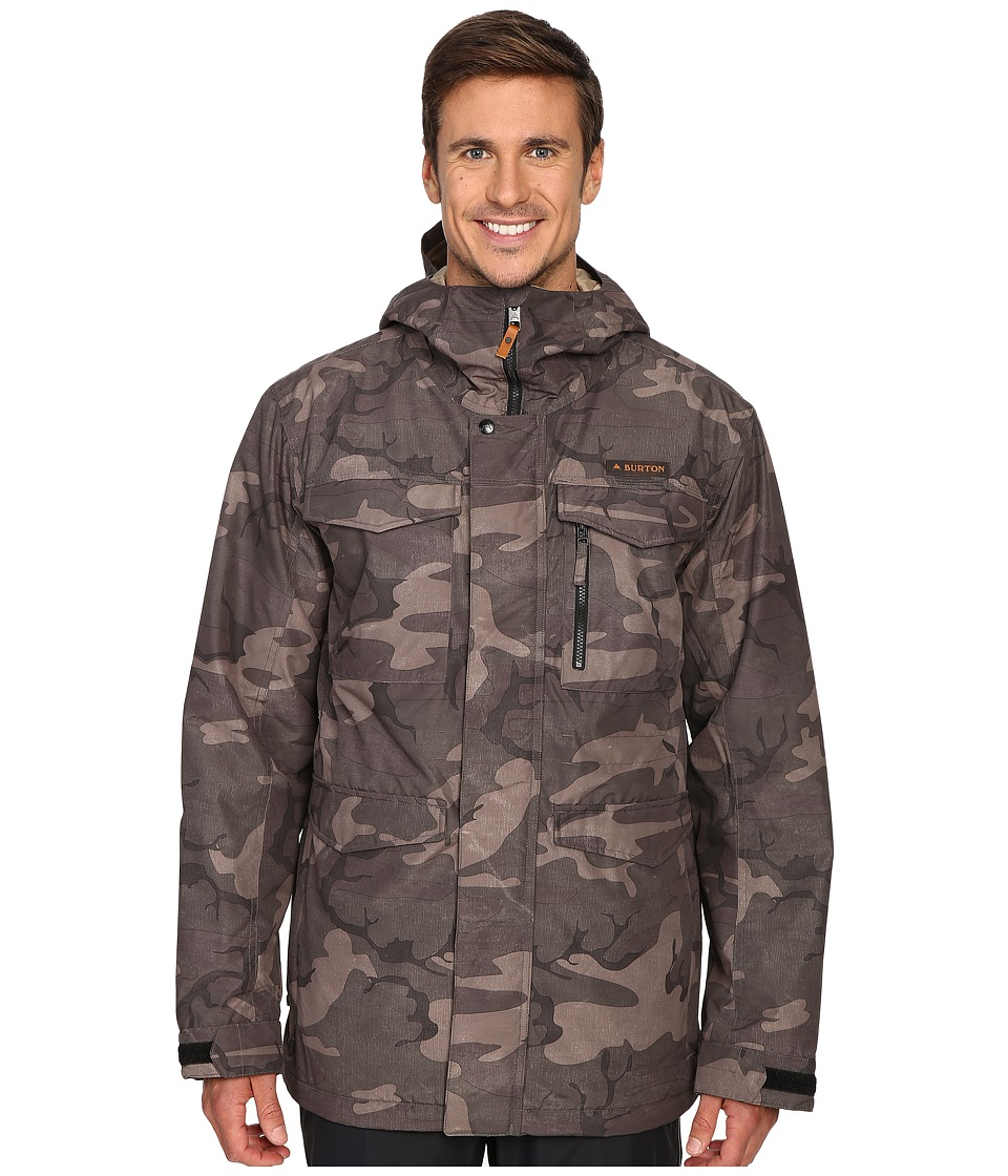 Burton - MB Covert Jacket (Black Camo) Men's Coat