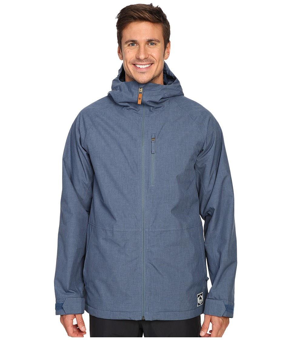 Burton - Hilltop Jacket (Washed Blue) Men's Coat