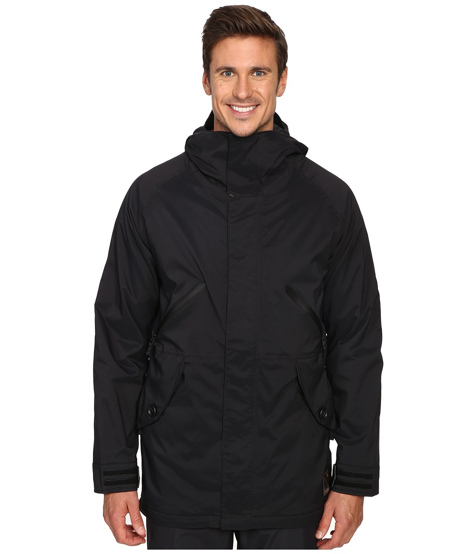 Burton - Breach Jacket 15 (True Black/Keef) Men's Coat
