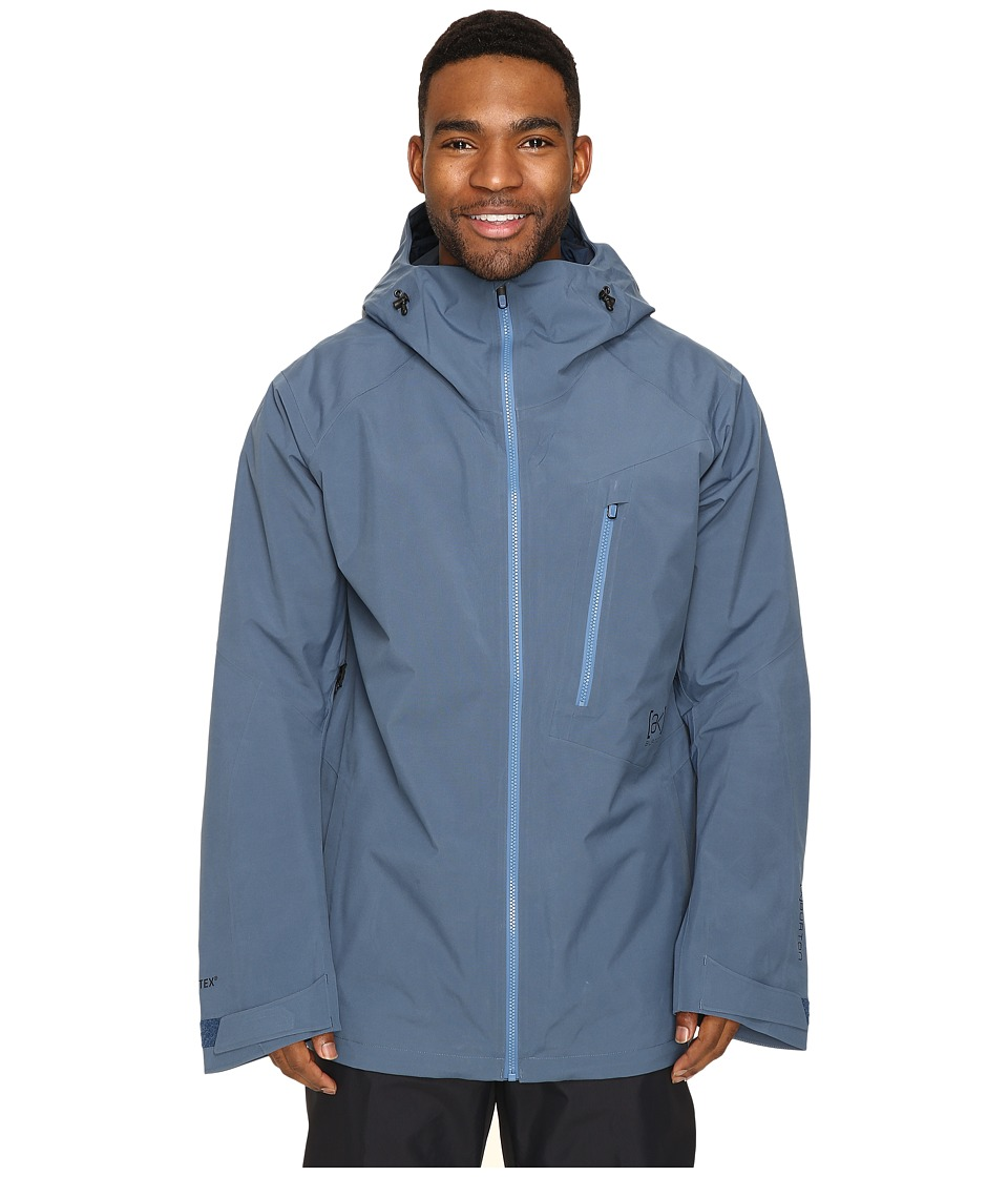 Burton - [ak] 2L Cyclic Jacket (Washed Blue) Men's Coat