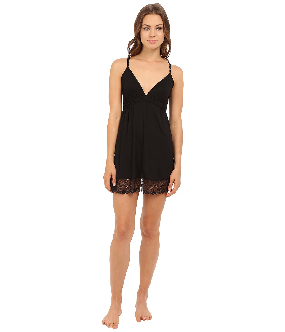 Only Hearts - Venice Chemise (Black) Women's Pajama