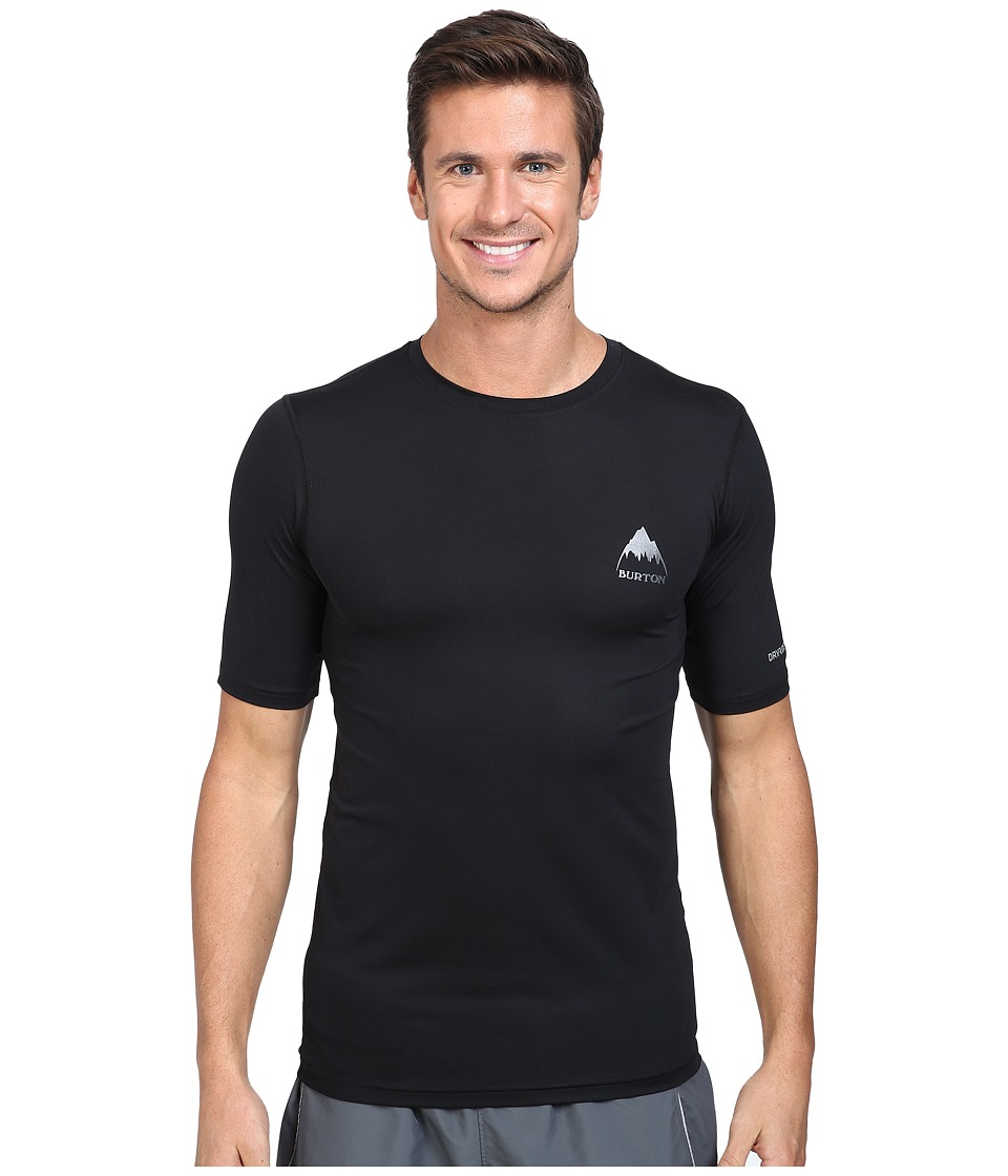 Burton - MB Lightweight Tech Tee (True Black 1) Men's Short Sleeve Pullover