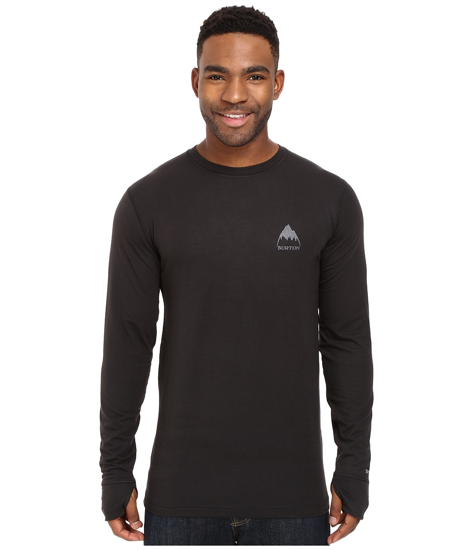 Burton - Midweight Crew (True Black 1) Men's Long Sleeve Pullover