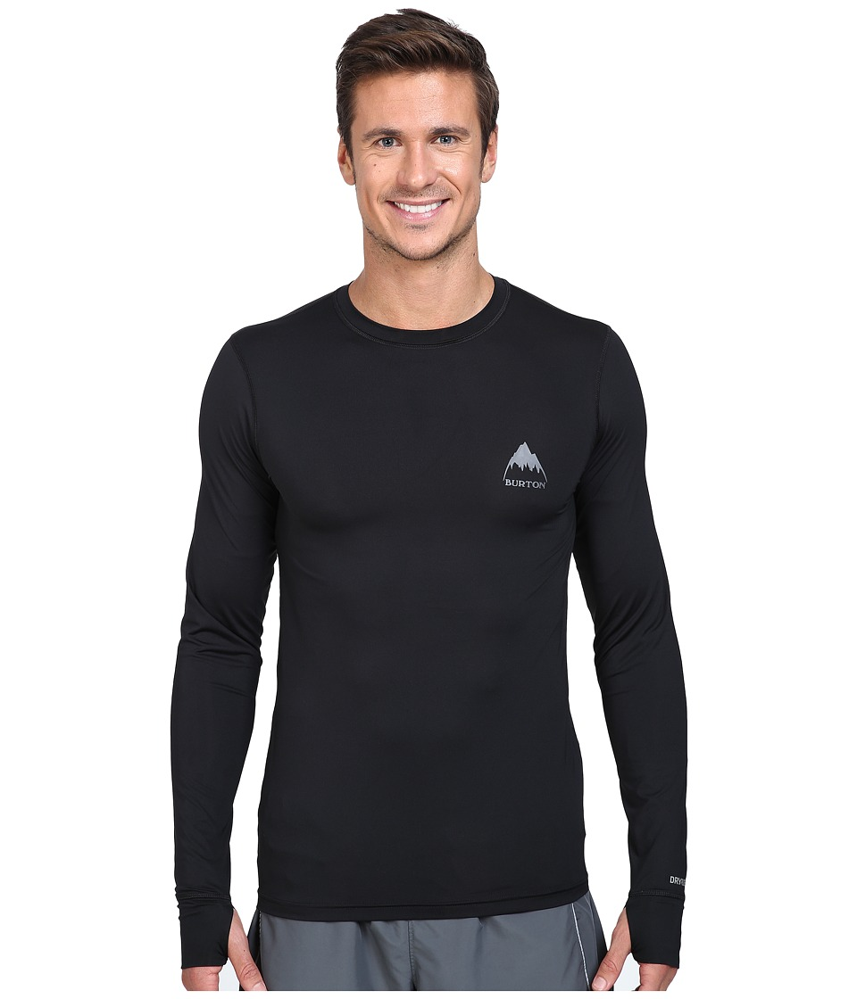 Burton - Lightweight Crew (True Black 1) Men's Long Sleeve Pullover
