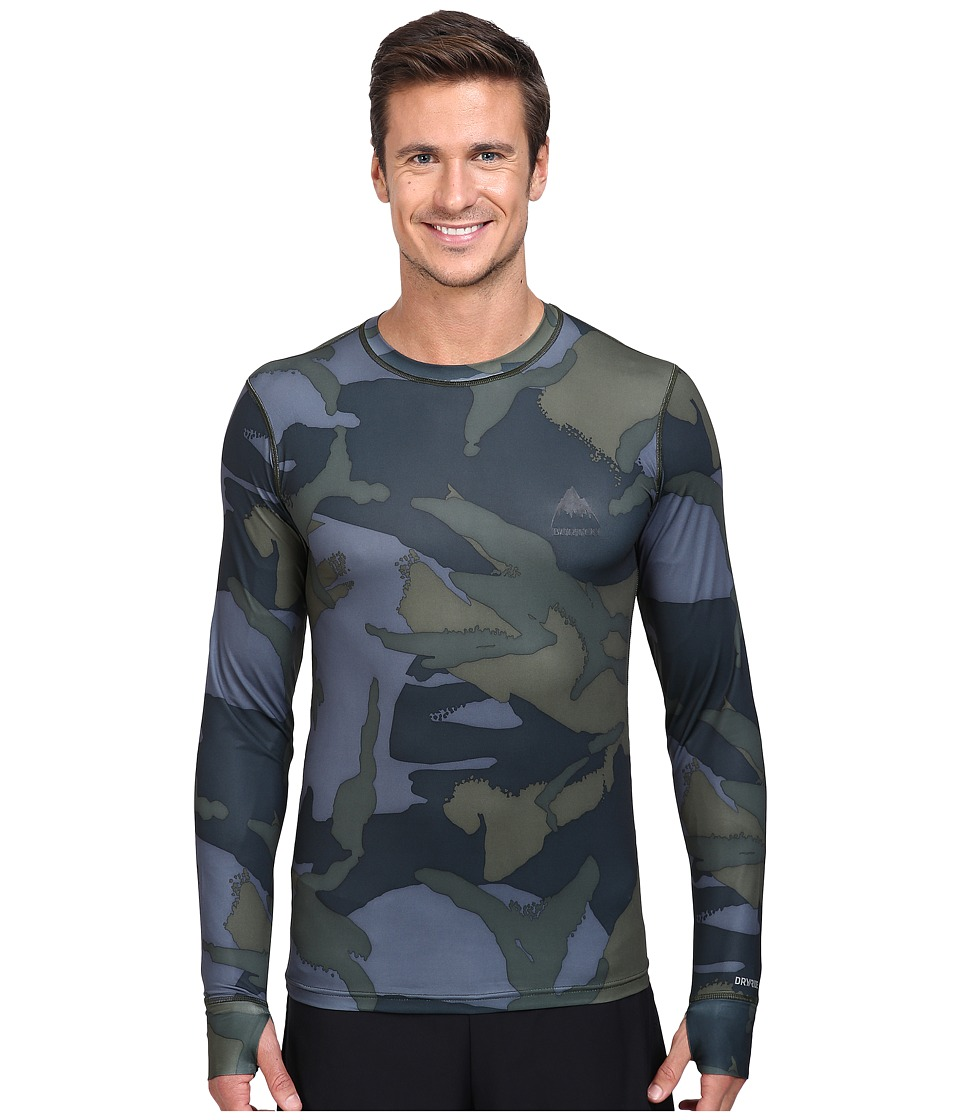 Burton - Lightweight Crew (Beetle Derby Camo) Men's Long Sleeve Pullover