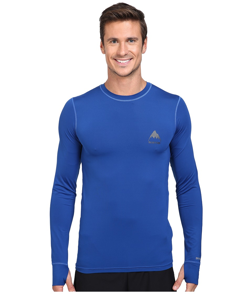 Burton - Lightweight Crew (True Blue) Men's Long Sleeve Pullover