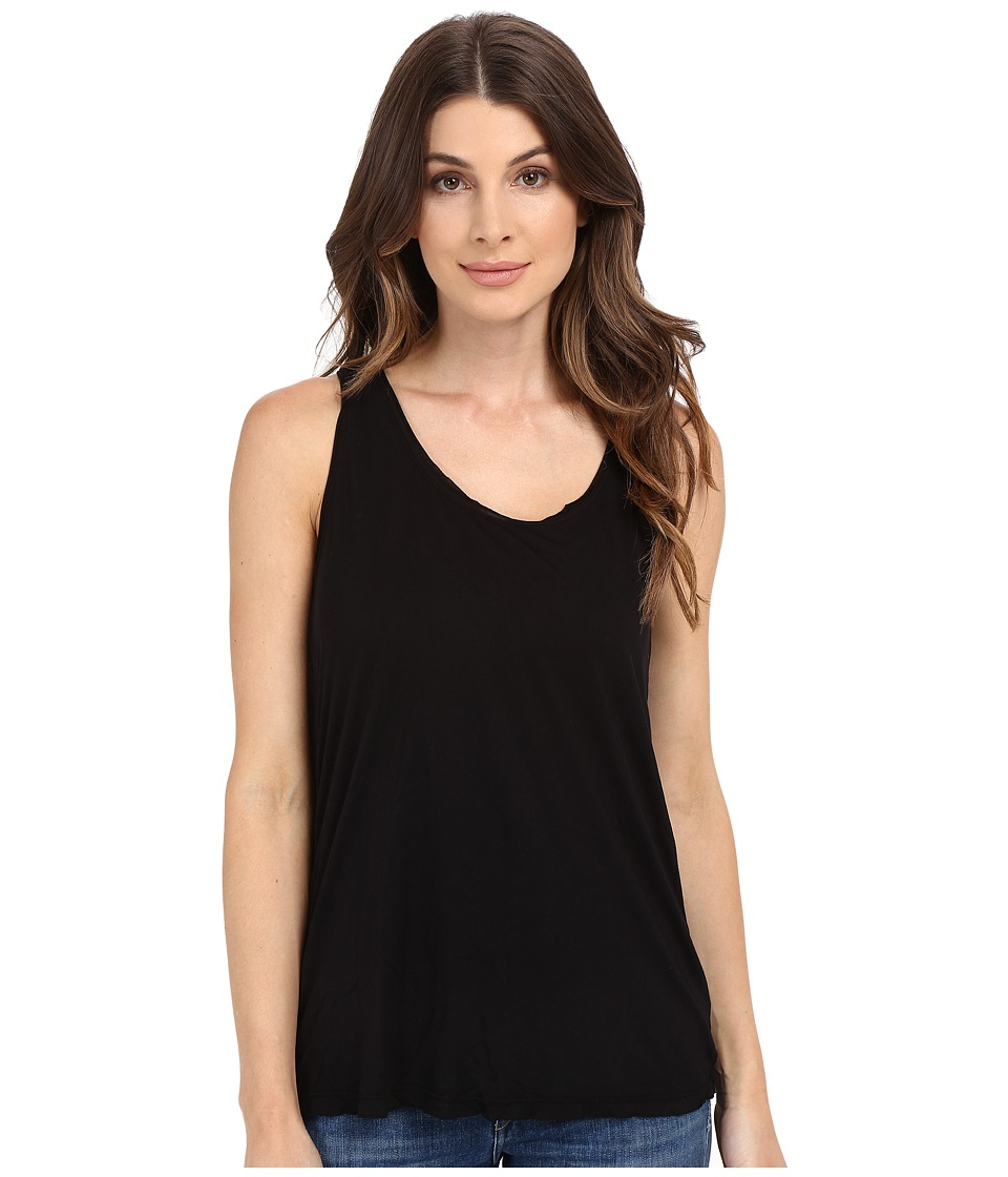 Splendid - Yuma Jersey Tank Top (Black) Women's Sleeveless