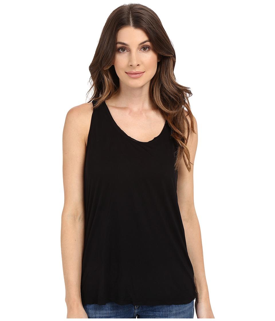 Splendid - Yuma Jersey Tank Top (Black) Women's Sleeveless