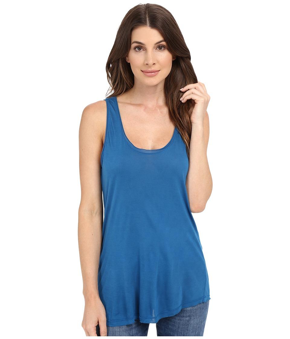 Splendid - Yuma Jersey Tank Top (Regatta Blue) Women's Sleeveless