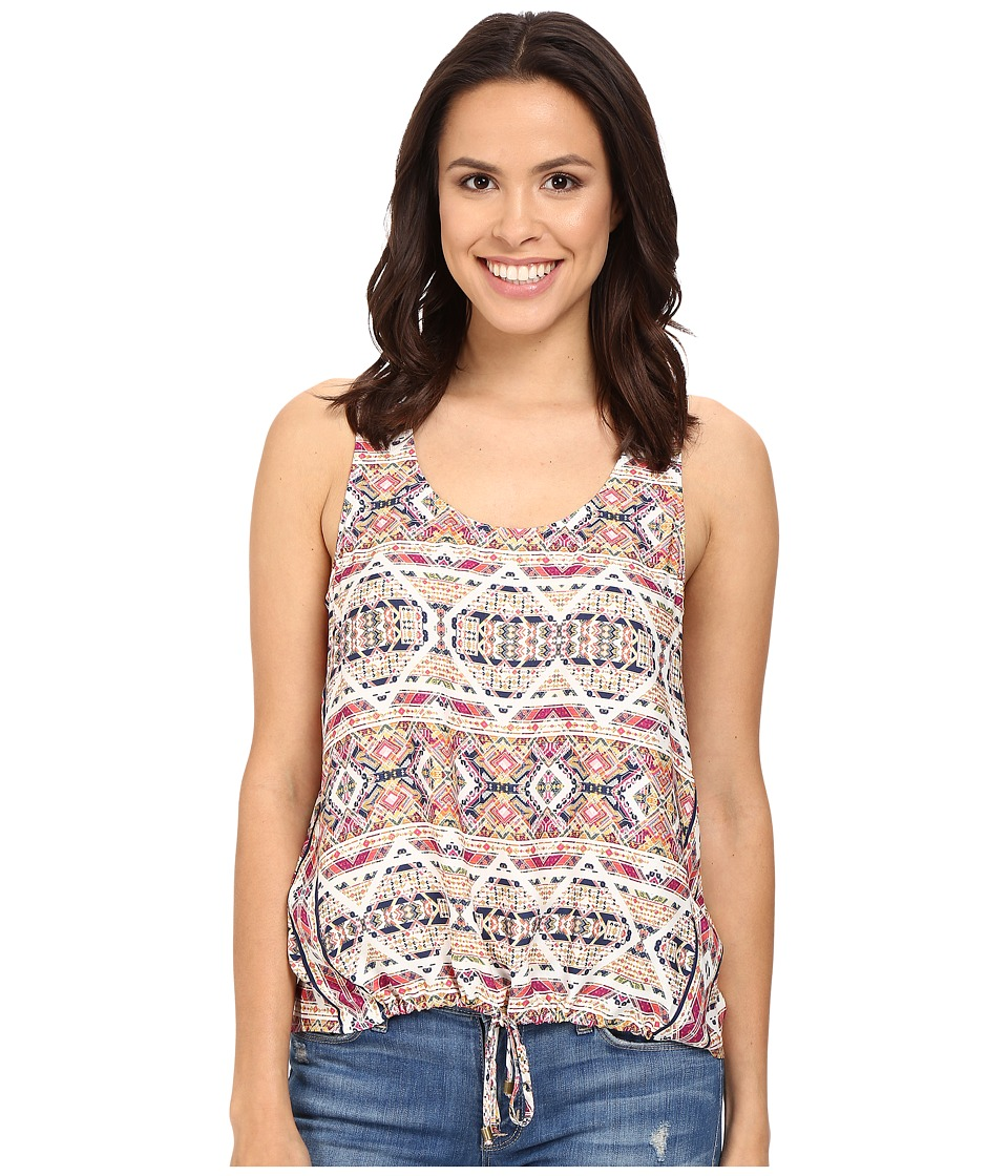 Splendid - Taos Print Tank Top (Rasberry Sorbet) Women's Sleeveless