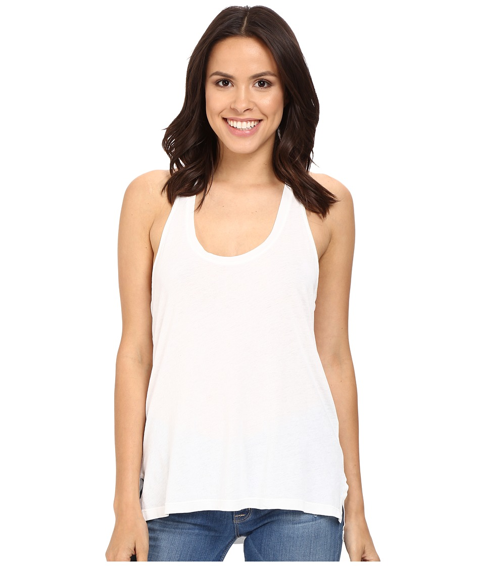 Splendid - Vintage Whisper Racer Tank Top (Paper) Women's Sleeveless