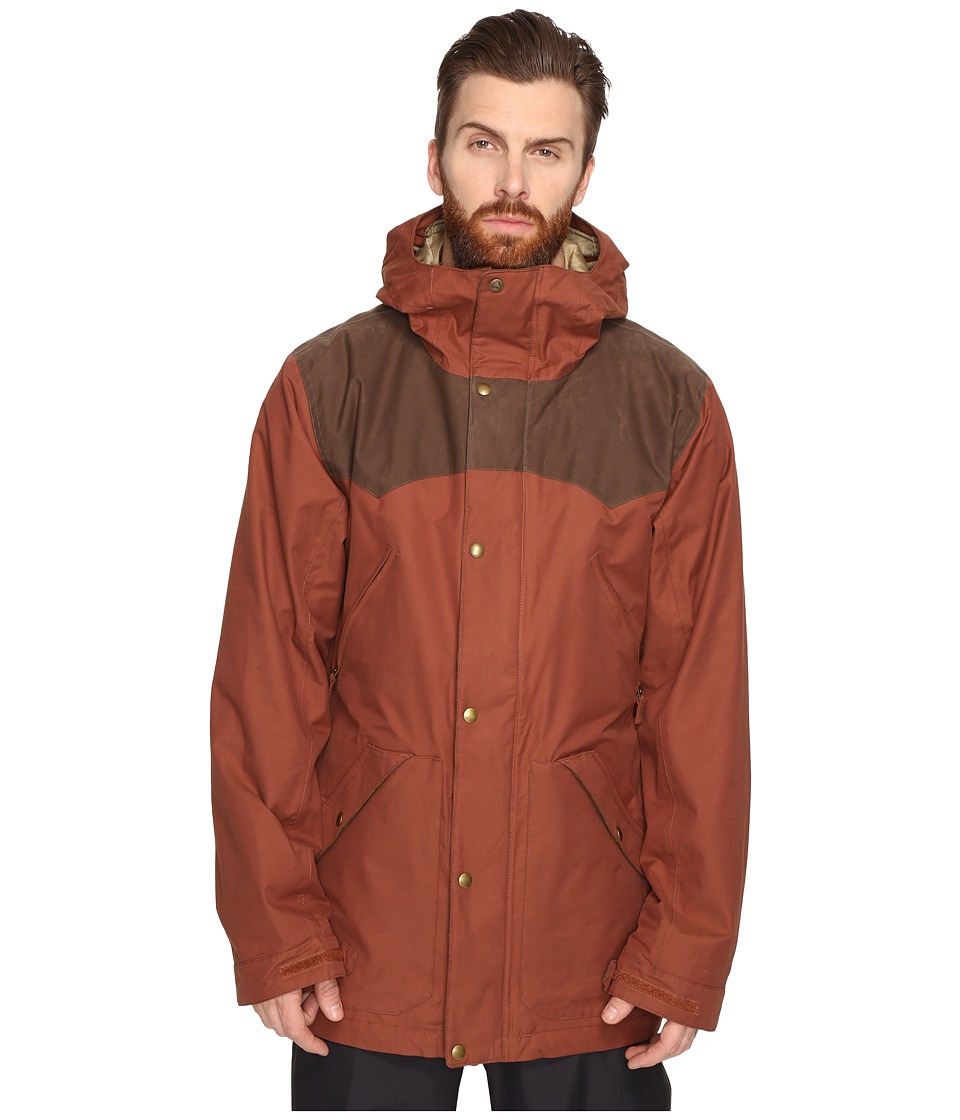 Burton - Folsom Jacket (Matador/Mocha Wax) Men's Coat