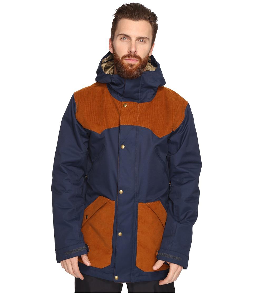 Burton - Folsom Jacket (Eclipse/True Penny) Men's Coat
