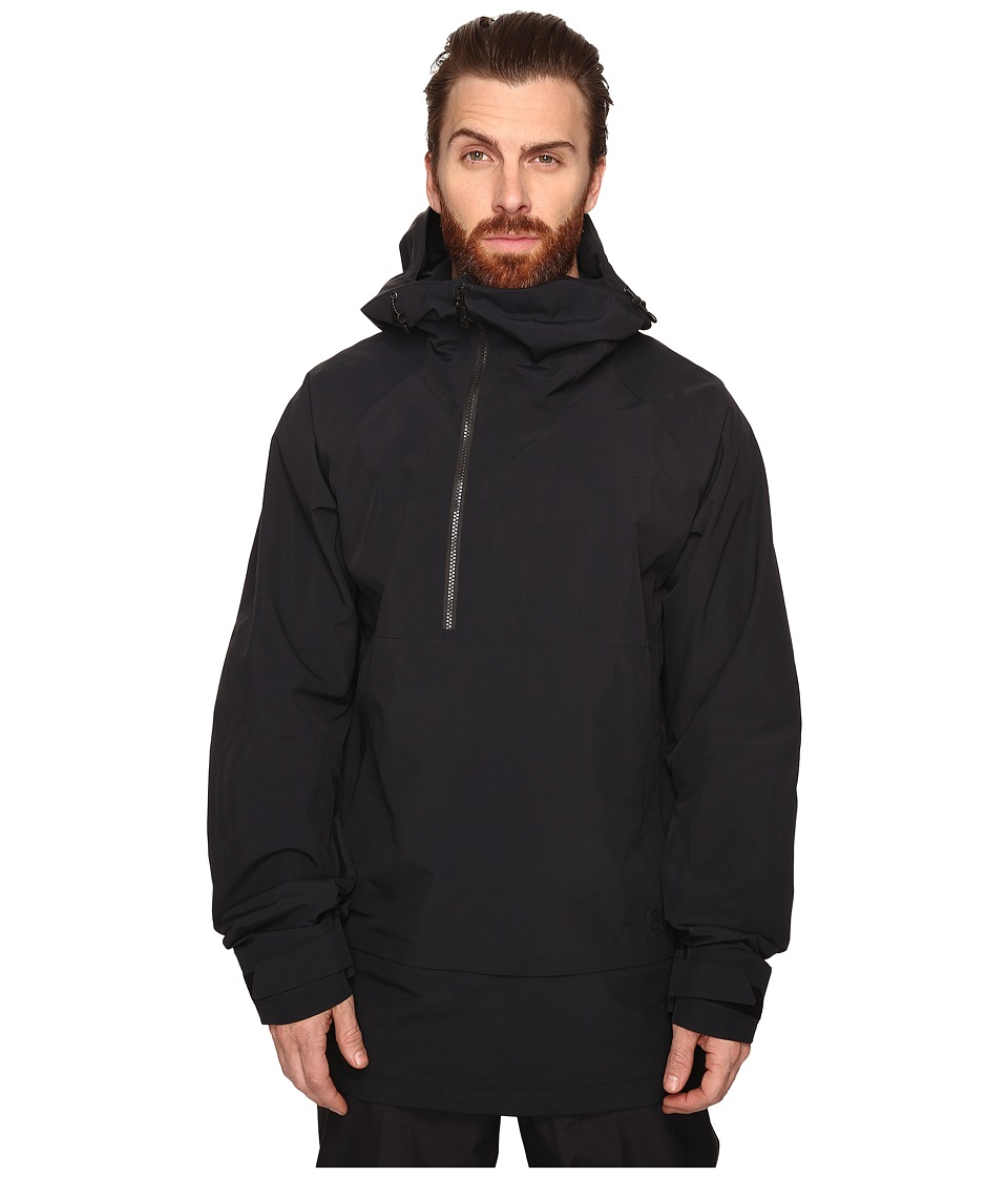 Burton - [ak] 2L Velocity Anorak Jacket (True Black) Men's Coat