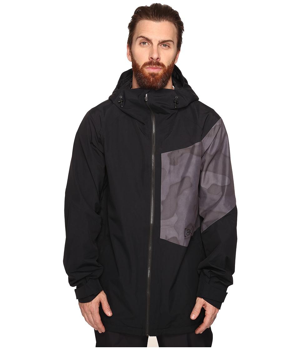 Burton - [ak] 2L Boom Jacket (True Black/True Black Hombre Camo) Men's Coat