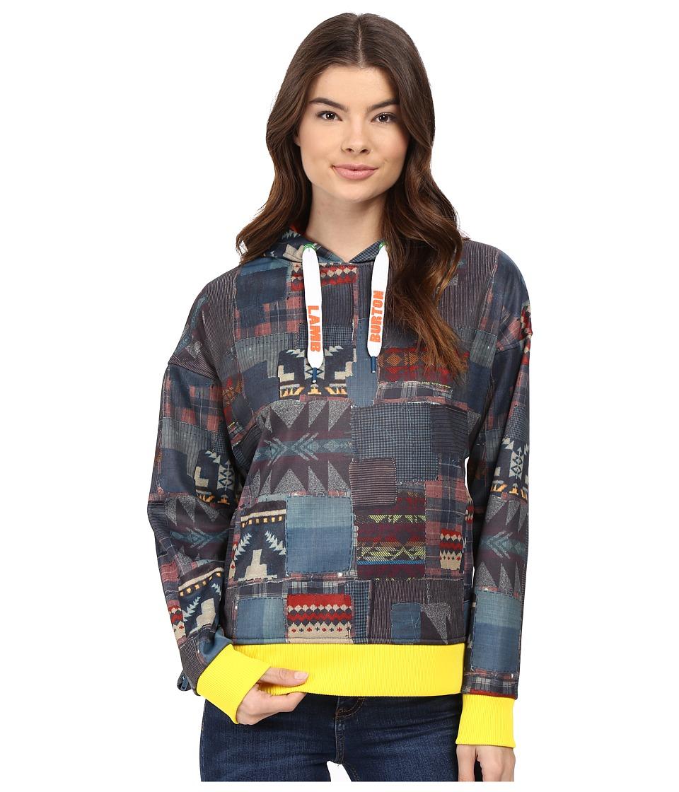 Burton - L.A.M.B x Burton Freddie Hoodie (Patchwork) Women's Sweatshirt