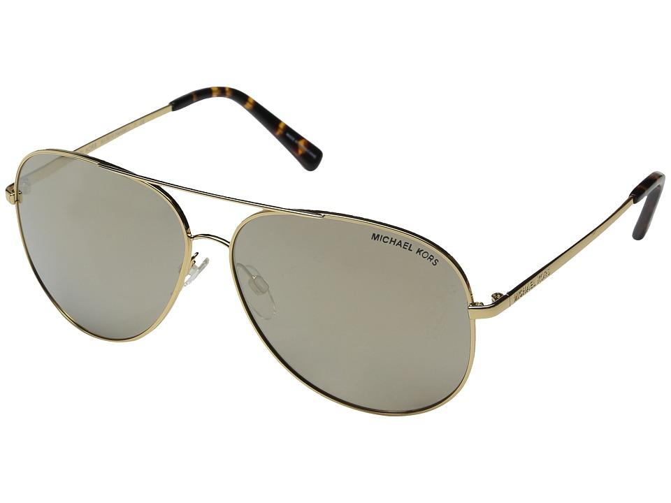 Michael Kors - Kendall I (Gold/Bronze Mirror) Fashion Sunglasses