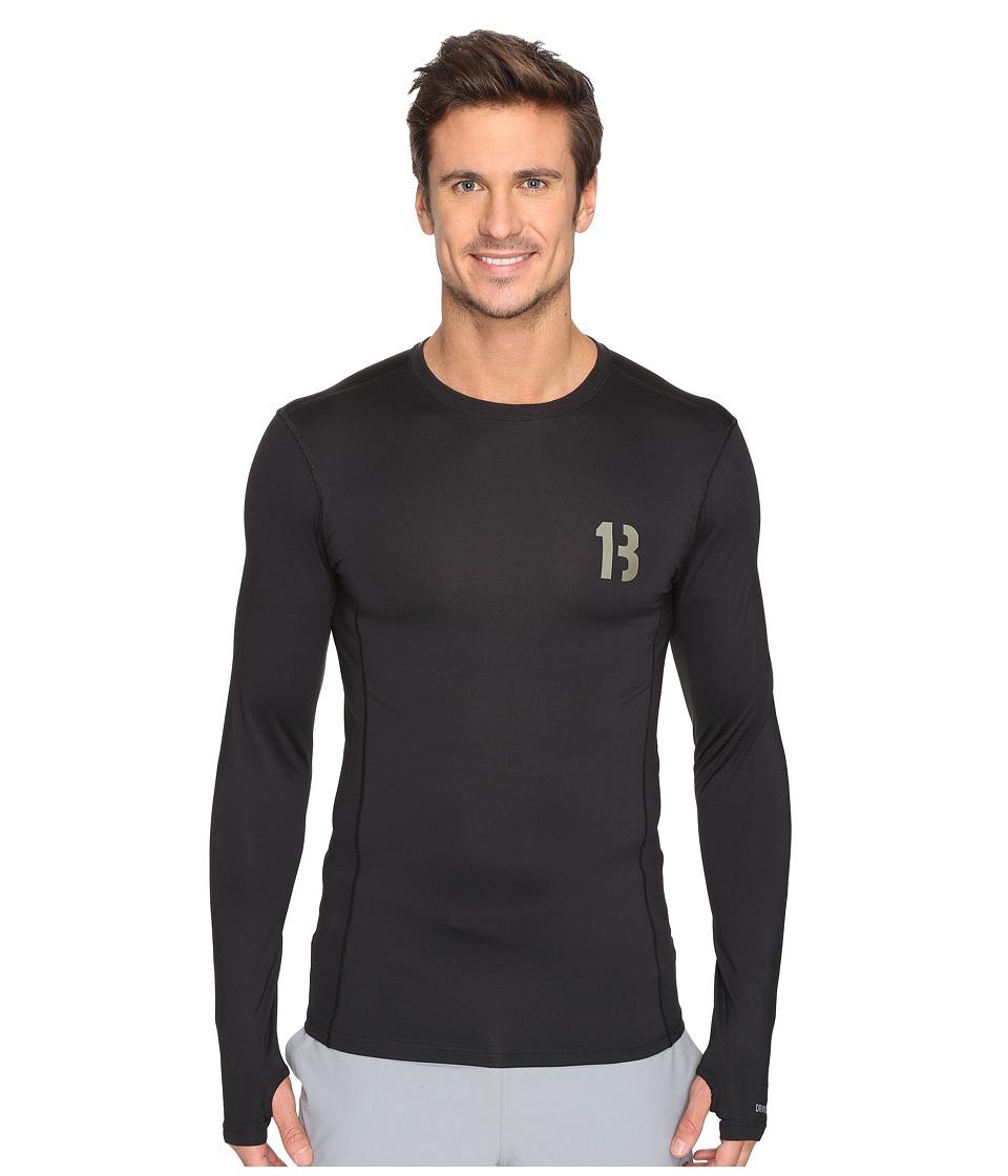 Burton - Active Crew (True Black) Men's Clothing
