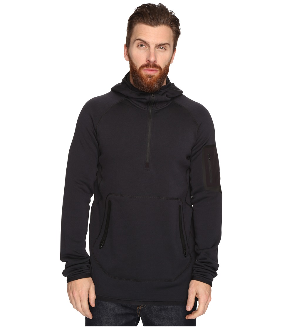 Burton - [ak] Piston Hoodie (True Black) Men's Sweatshirt