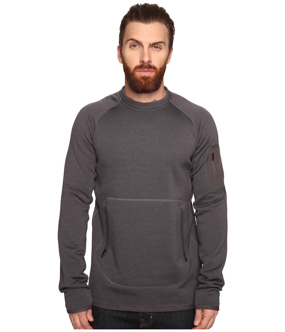 Burton - [ak] Piston Crew (Faded Heather) Men's Clothing