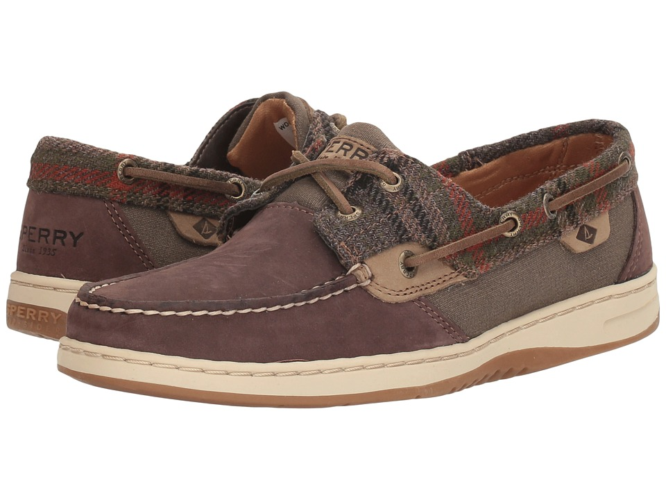 Sperry Bluefish (Dark Brown/Wool) Women