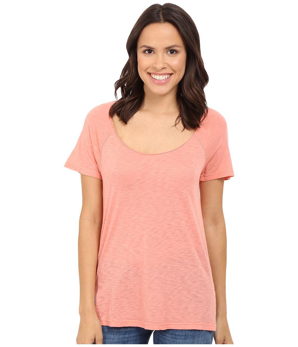 Splendid - Slub Jersey Raglan Tee (Rosette) Women's T Shirt