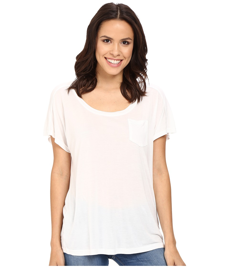 Splendid - Yuma Jersey Tee (White) Women's T Shirt