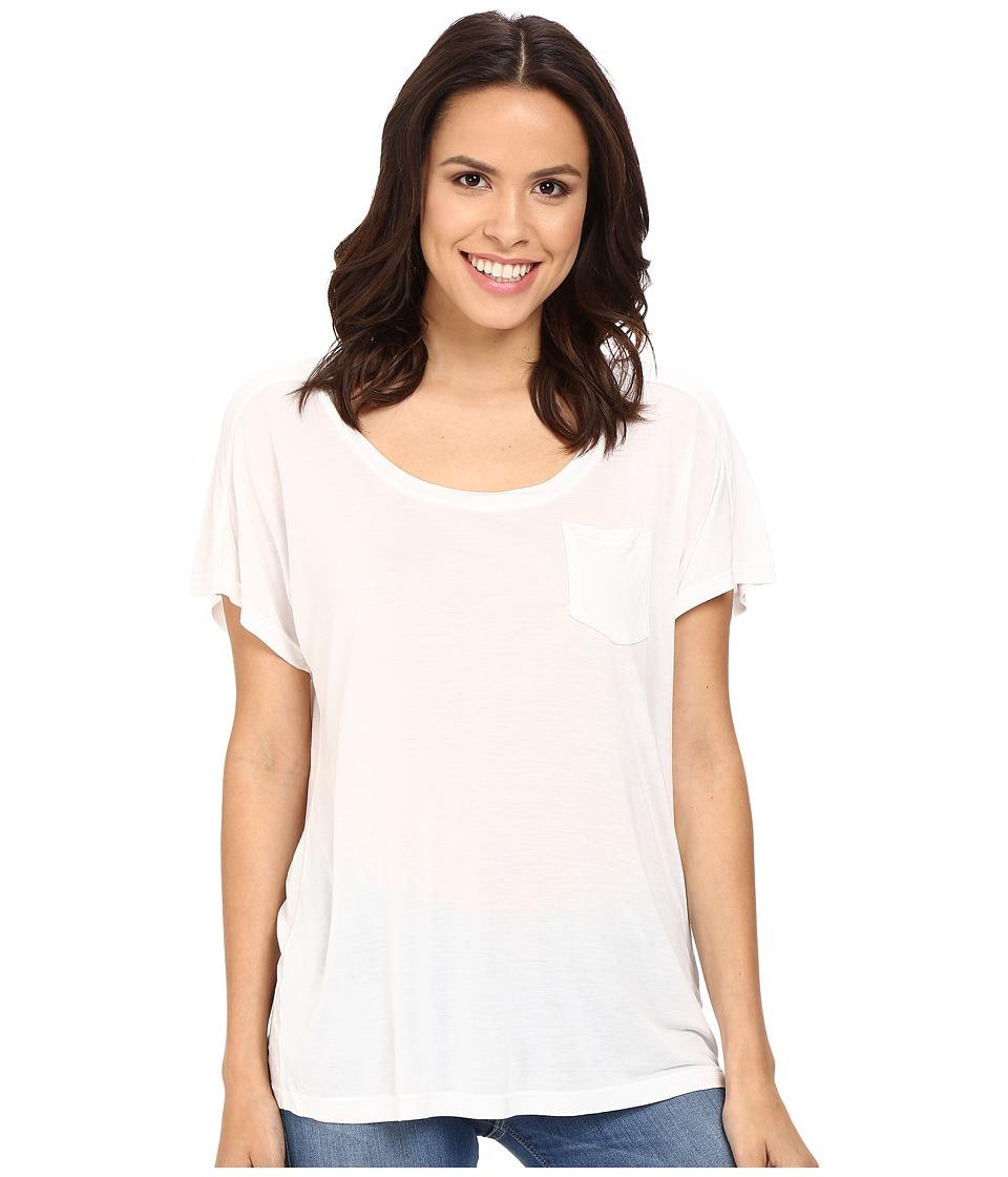 Splendid - Yuma Jersey Tee (White) Women's T Shirt