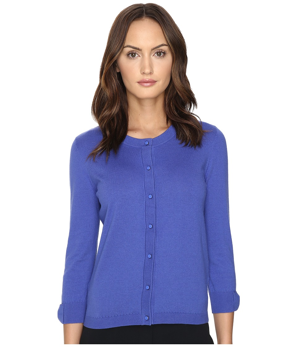 Kate Spade New York - Somerset Cardigan (Ensemble Blue) Women's Sweater