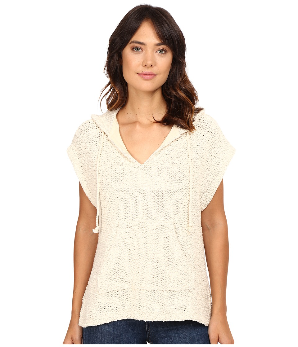 Splendid - Prairie Loose Knit Hoodie (Natural) Women's Sweatshirt