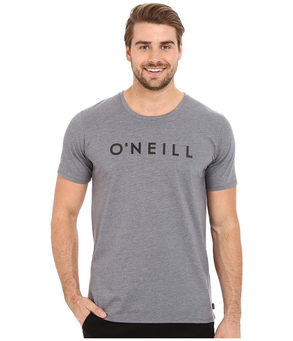 O'Neill - Hyperdry Yambao Tee (Heather Grey) Men's Short Sleeve Pullover