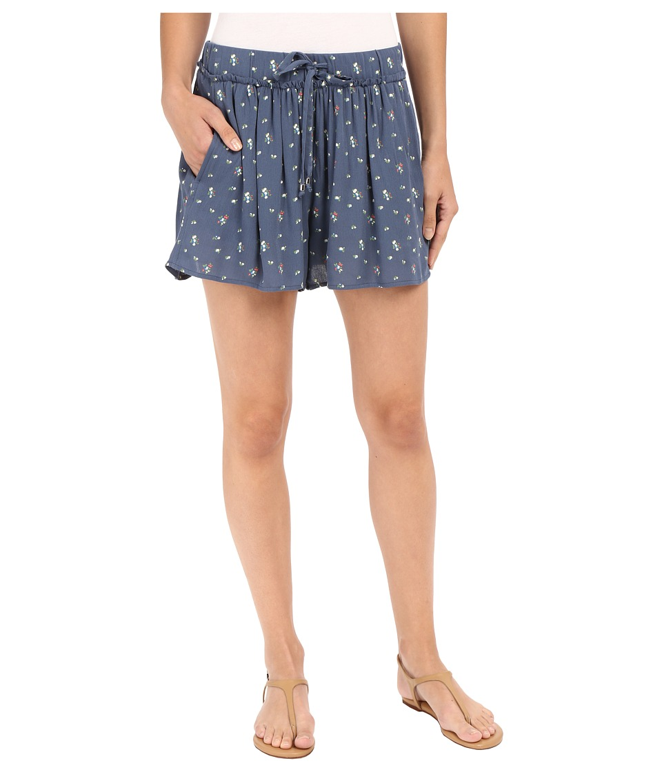 Splendid - Primrose Ditsy Shorts (Blue Shadow) Women's Shorts