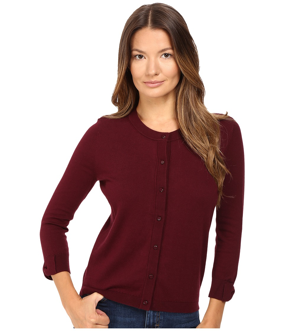 Kate Spade New York - Somerset Cardigan (Midnight Wine) Women's Sweater