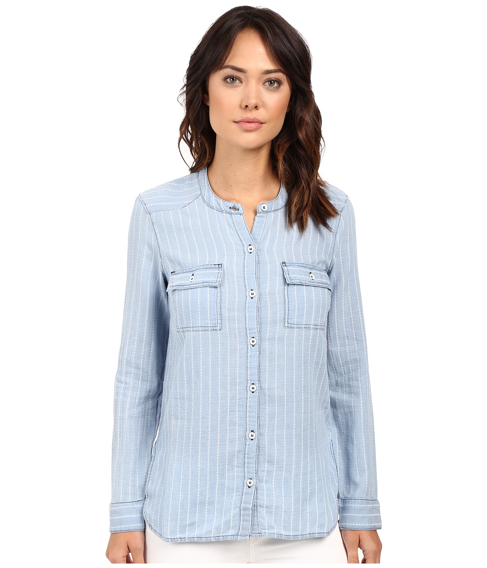 Splendid - Oroya Indigo Railroad Shirt (Light Wash) Women's Clothing