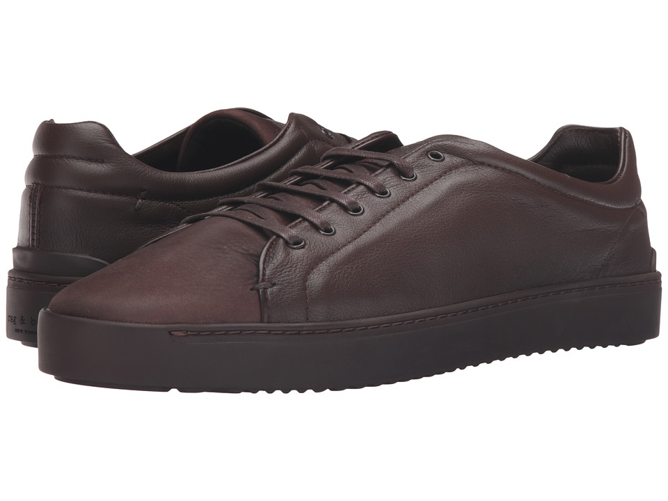 rag & bone - Limited Edition Matte Kent Lace Low (Brown Matte) Men's Shoes