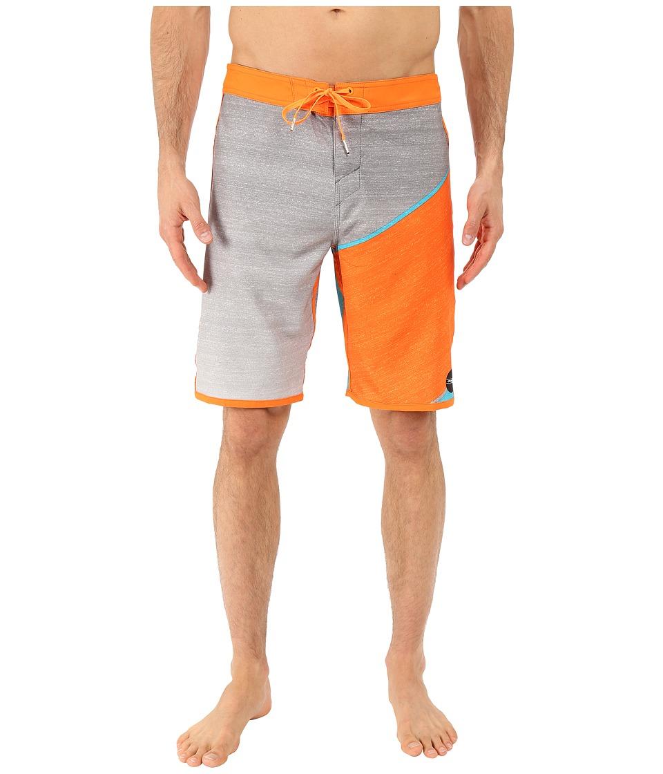 O'Neill - Hyperfreak Boardshorts (Light Grey) Men's Swimwear