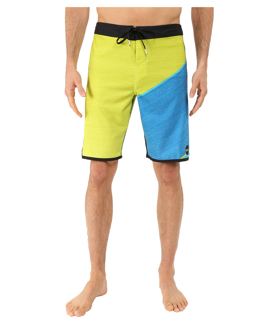 O'Neill - Hyperfreak Boardshorts (Lime) Men's Swimwear