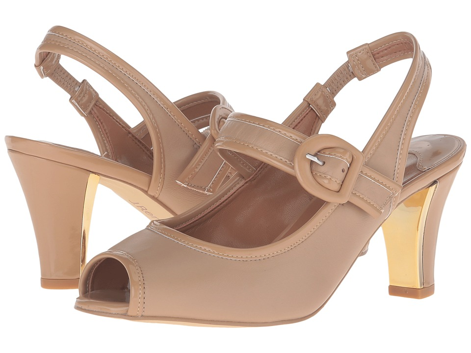 J. Renee - Nevern (Nude/Nude) Women's Shoes