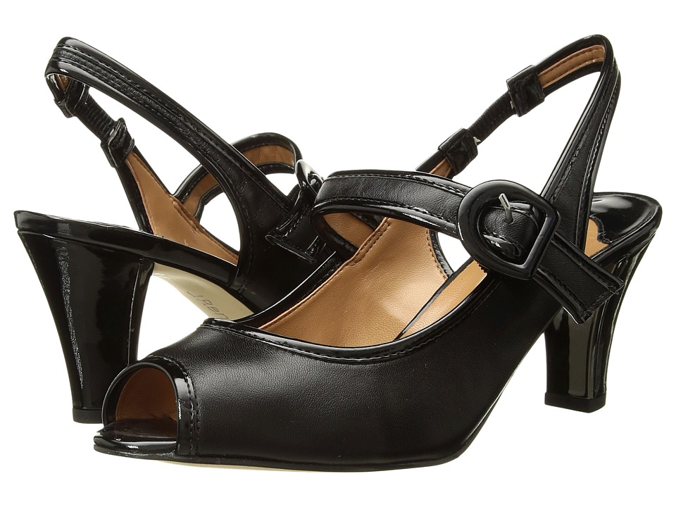 J. Renee - Nevern (Black/Black) Women's Shoes