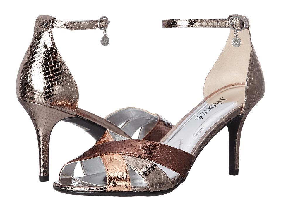 J. Renee - Hillrise (Nickel/Blush/Blush) Women's Shoes