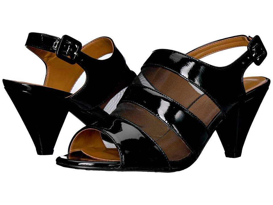 J. Renee - Murnane (Black Patent) Women's Shoes