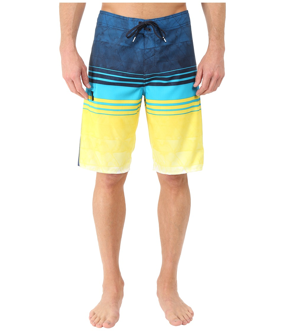 O'Neill - Superfreak Diffusion Boardshorts (Yellow) Men's Swimwear