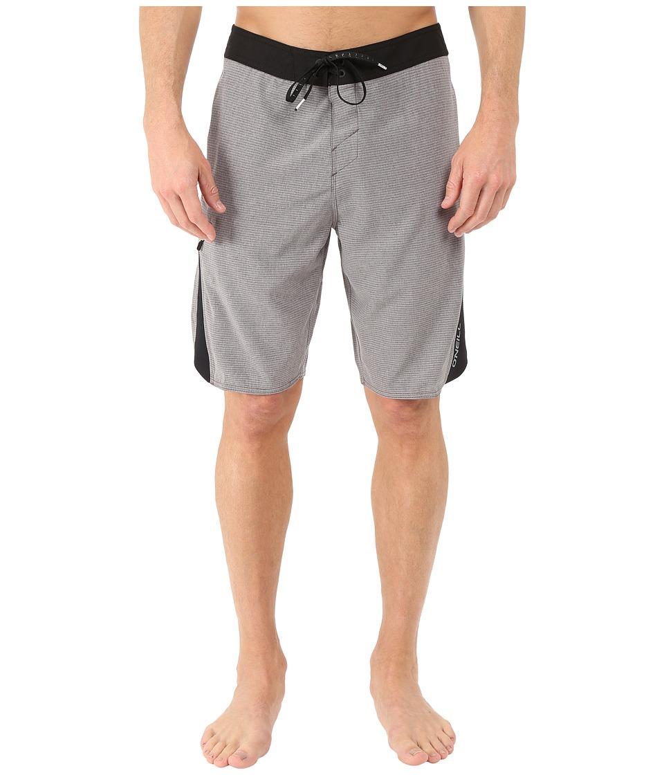O'Neill - Superfreak Quad Boardshorts (Charcoal) Men's Swimwear