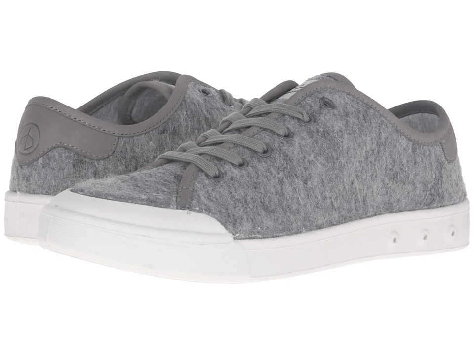 rag & bone - Standard Issue Wool Lace-Up (Grey Wool) Men's Shoes